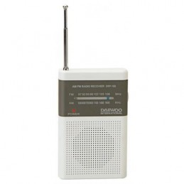 RADIO DAEWOO PORT.AM/FM-BR/CZ-DRP100W