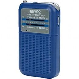 RADIO DAEWOO PORT.AM/FM-AZUL  -DRP8BL