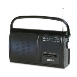 RADIO DAEWOO PORT.AM/FM-PRETO  -DRP19