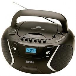 RADIO DAEWOO CD/K7-2x1,2W.MP3  -DBU51
